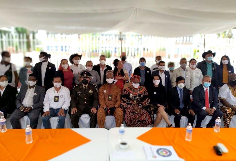 Inauguración de las oficinas estatales de la fundación AYABS en el municipio de pedro Escobedo, Querétaro